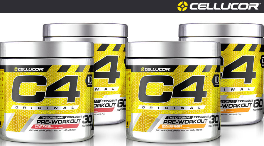 Cellucor C4 Original pre workout gym fitness cardio