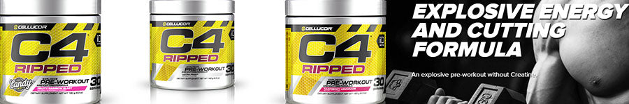 Cellucor C4 Ripped 30 Servings weight loss exercise pre workout gym fitness sport health energy