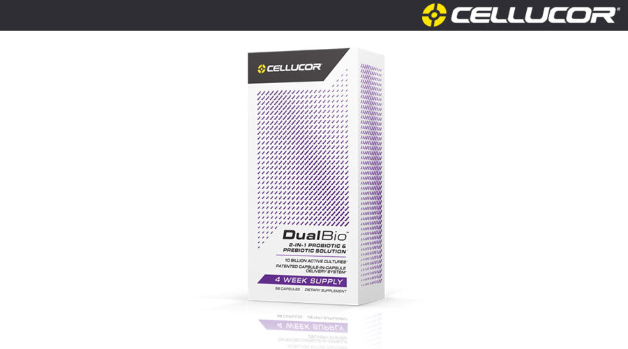 Cellucor DualBio 56 Capsules vitamins fitness gym workout