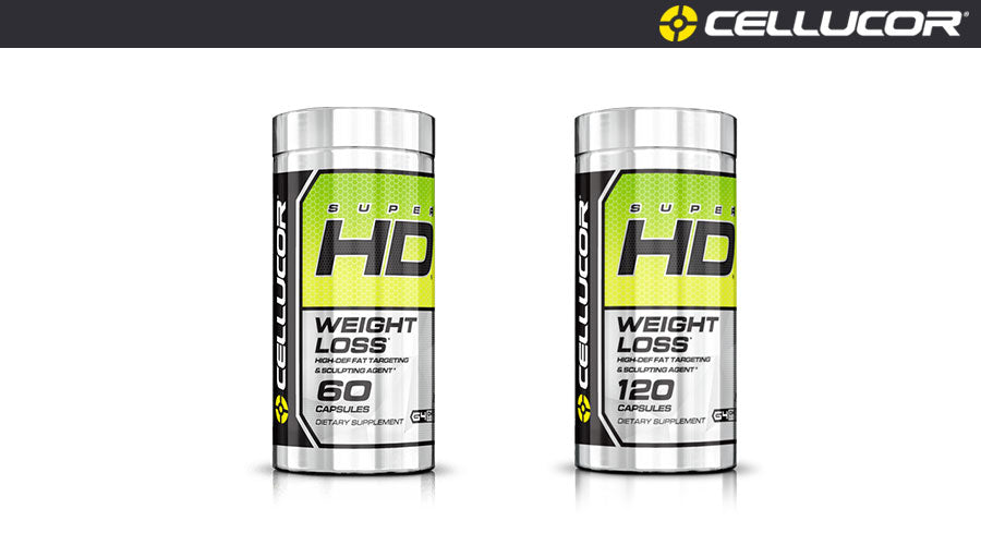 Cellucor SuperHD Capsules Weight Loss Energy workout fitness gym