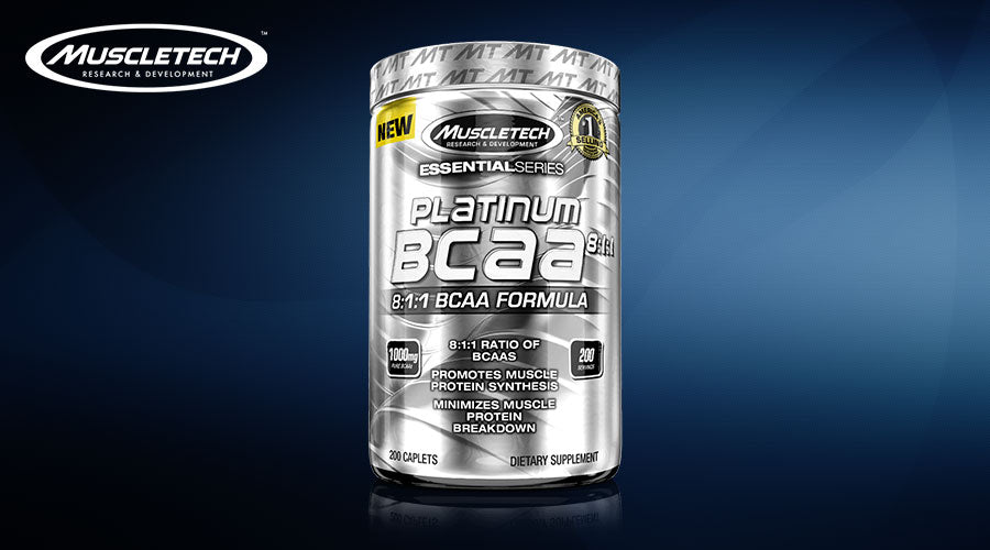 MuscleTech Platinum BCAA 8 1 1 amino acid gym workout fitness best