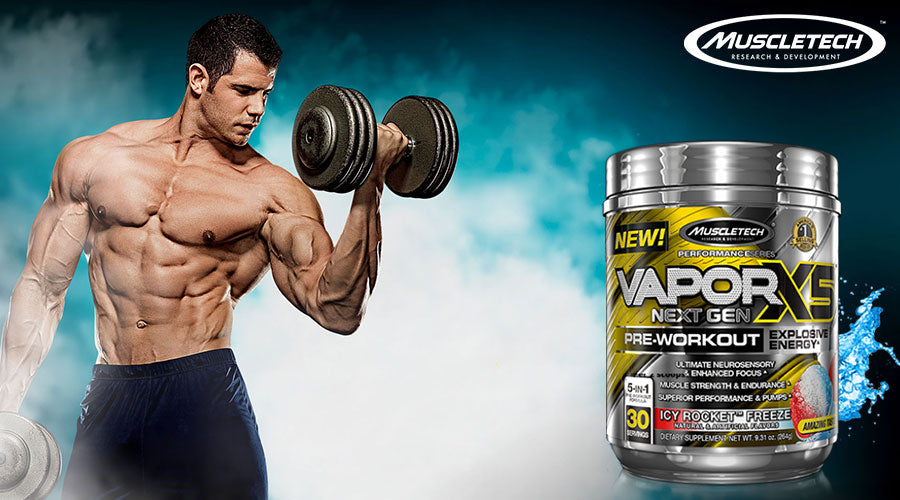 MuscleTech Vapor X5 Next Gen Pre Workout best