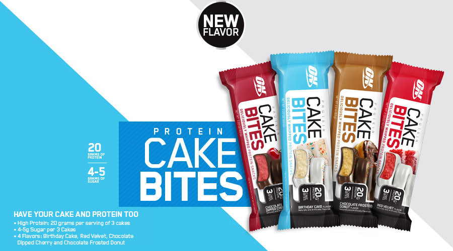 Optimum Nutrition Cake Bites protein