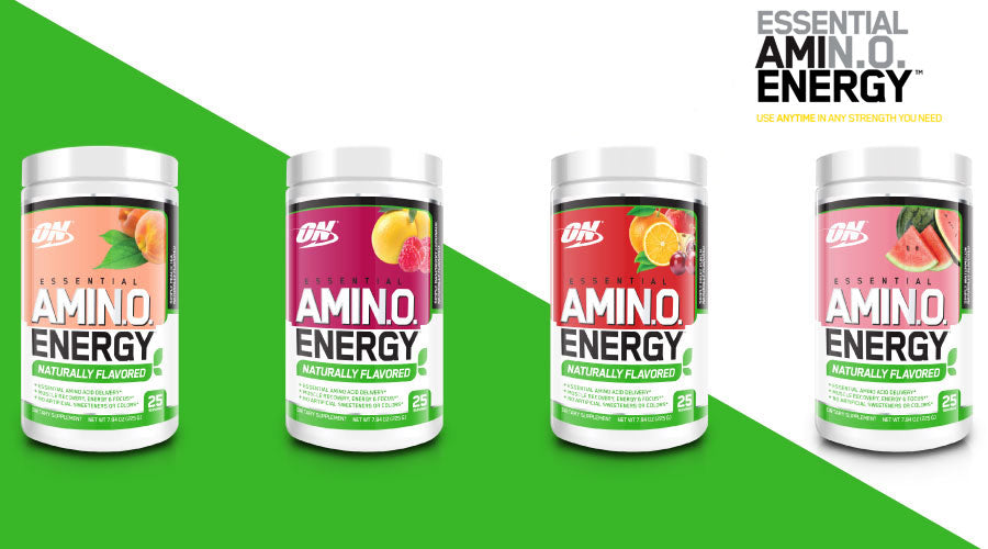 Optimum Nutrition Essential Amino Energy, 25 Servings Natural