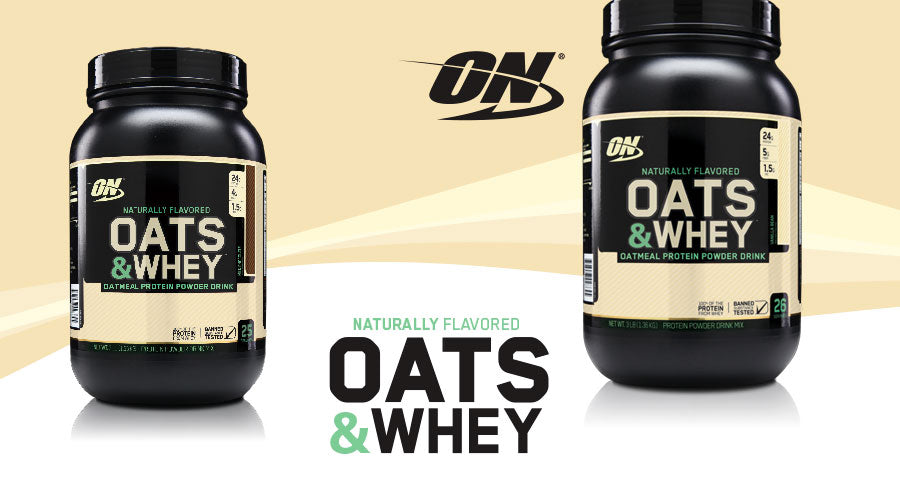 Optimum Nutrition Natural Oats Whey 3lb Milk Chocolate