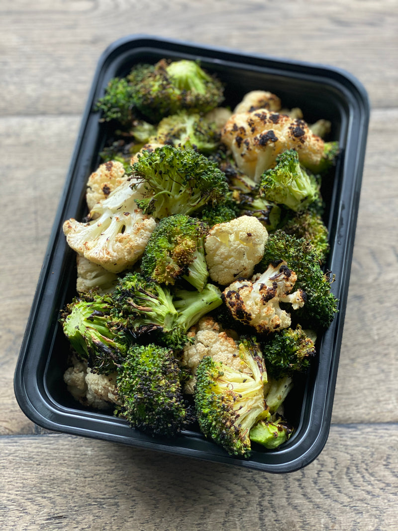 Grilled Broccoli & Cauliflower 1LB