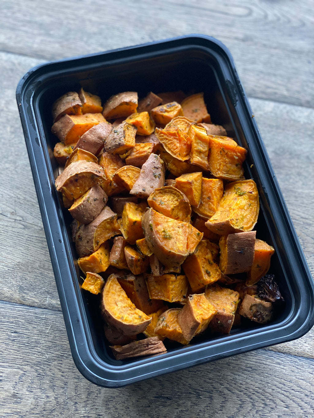 Seasoned Sweet Potato Cubes - 1 LB