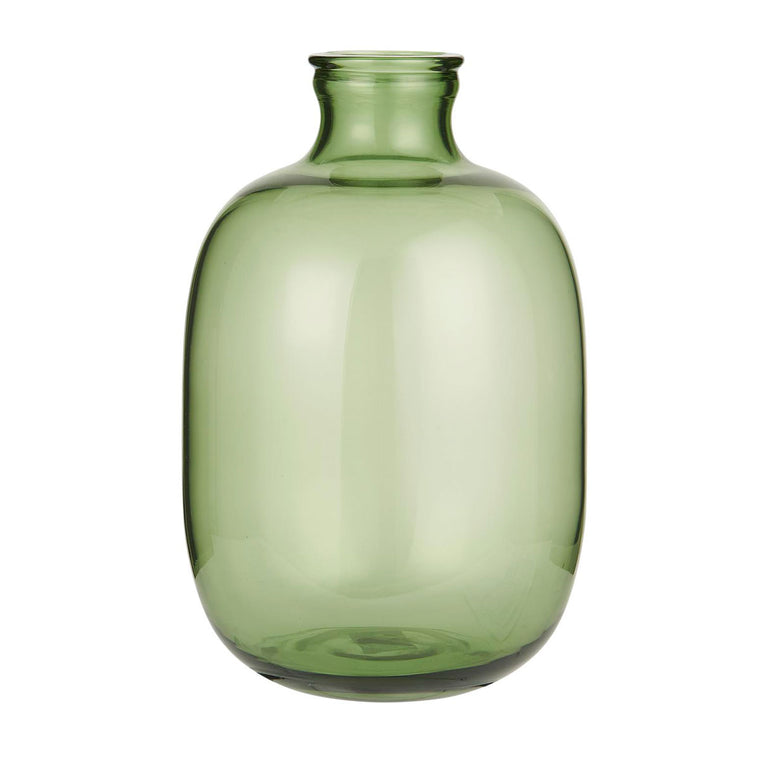 Glass balloon vase