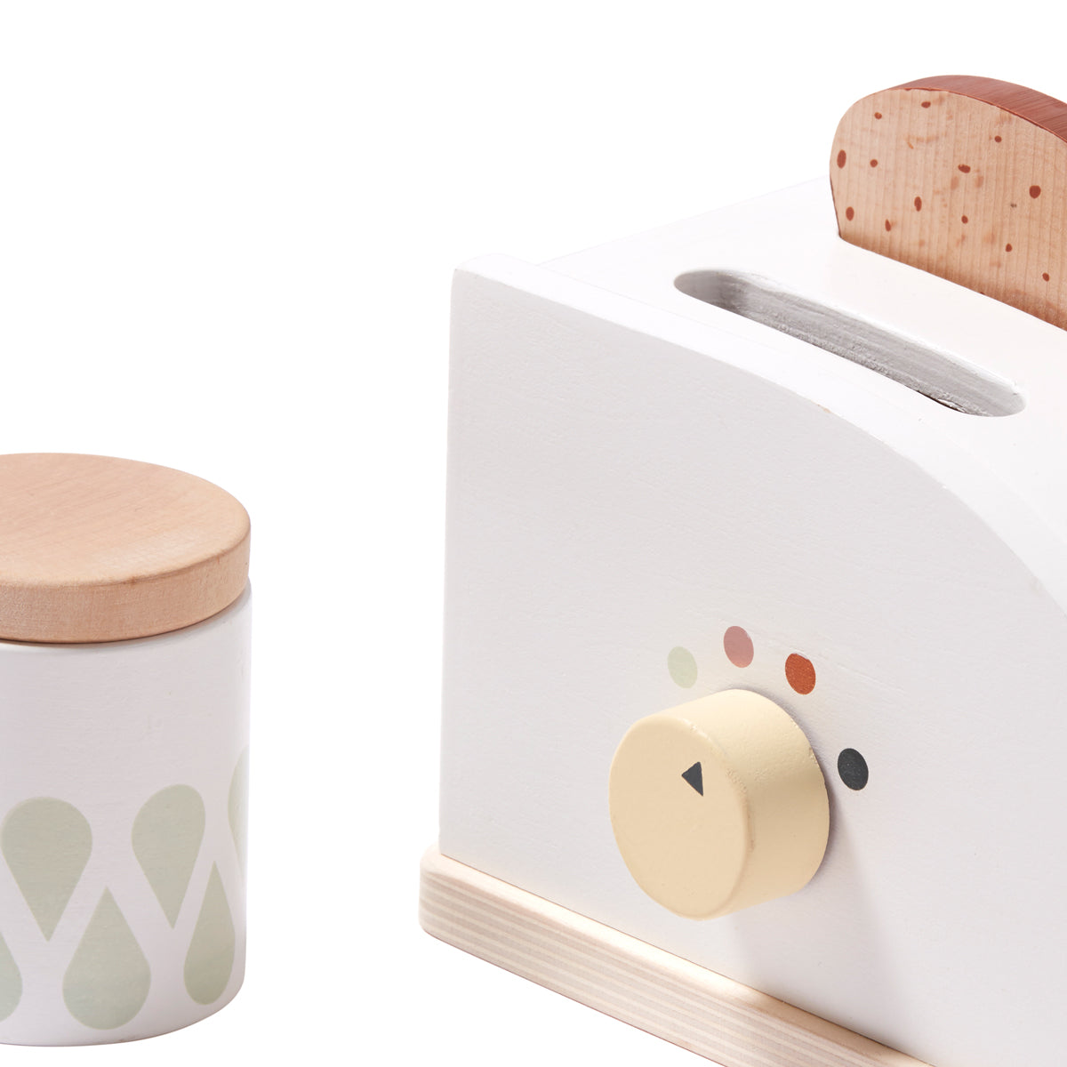 wooden toaster from kids concept