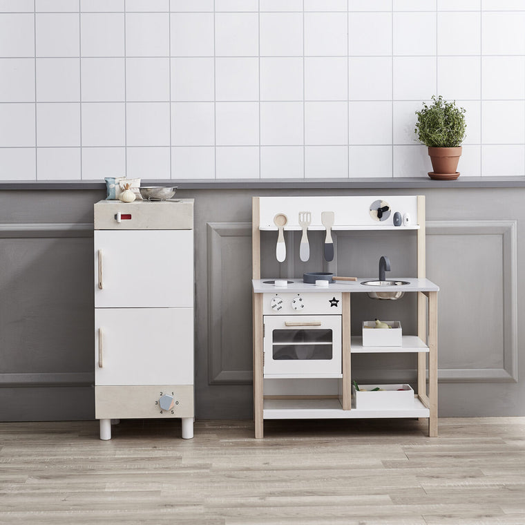 Kids Concept Kitchen natural White