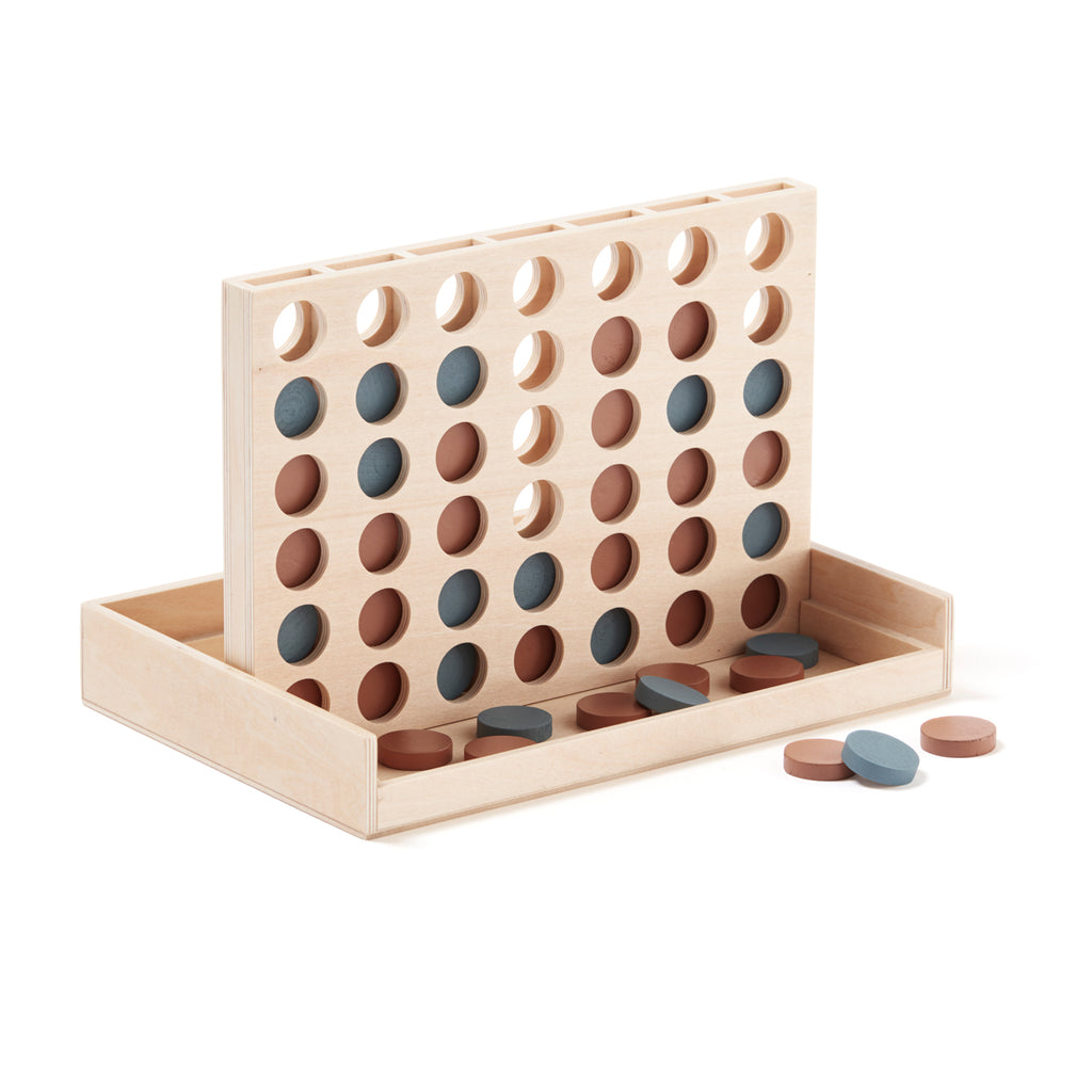 wooden game of four in a row by Kids Concept
