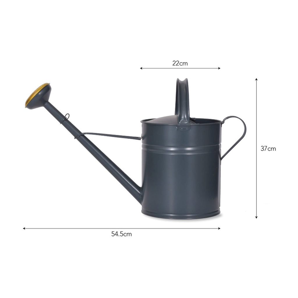 Garden trading black carbon metal Watering Can plant from house doctor