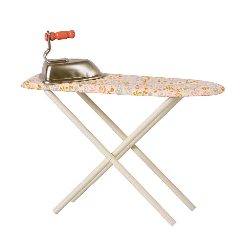 Maileg Iron and Ironing board mouse in a box dolls house furniture