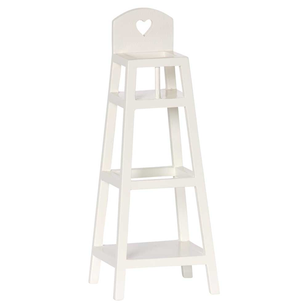 Maileg High chair for MY, offwhite 11-5034-01 5707304069768