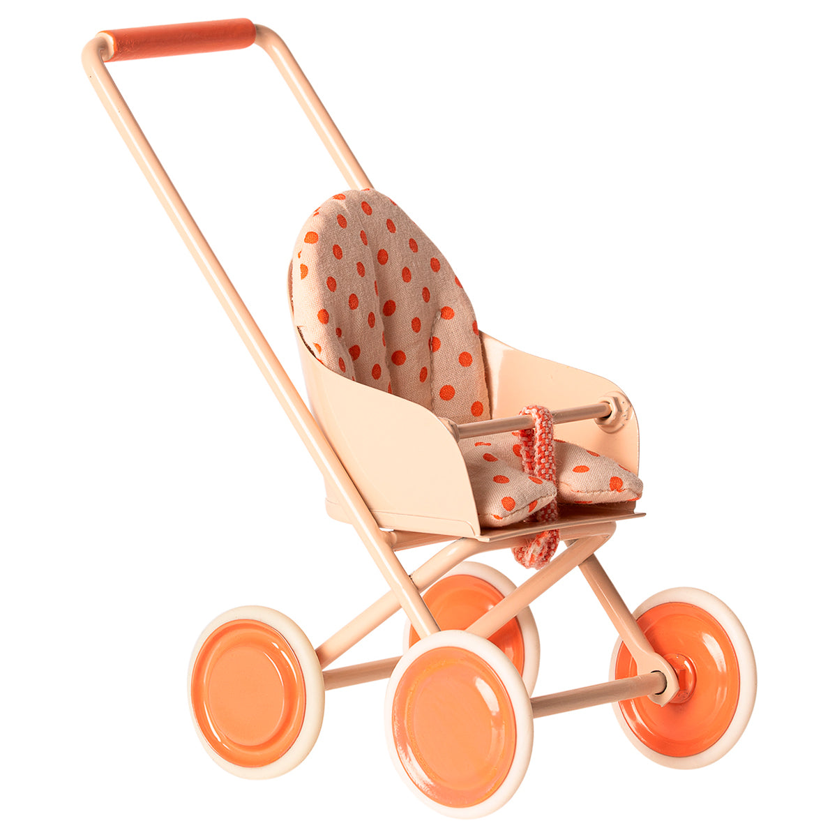 Stroller micro soft coral maileg miniature dolls house furniture