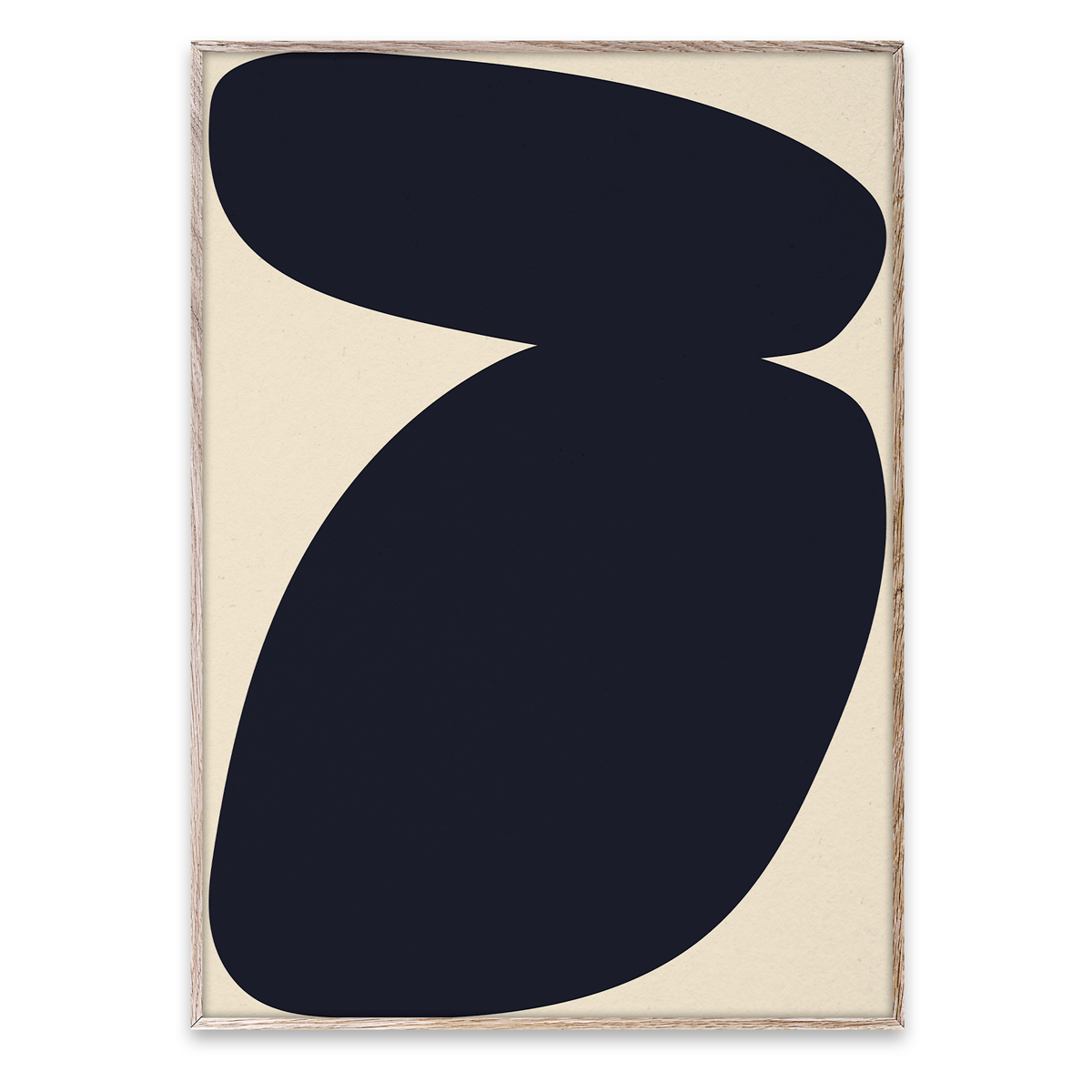 Paper Collective Wall Art Posters Solid Shapes 03 By Nina Bruun