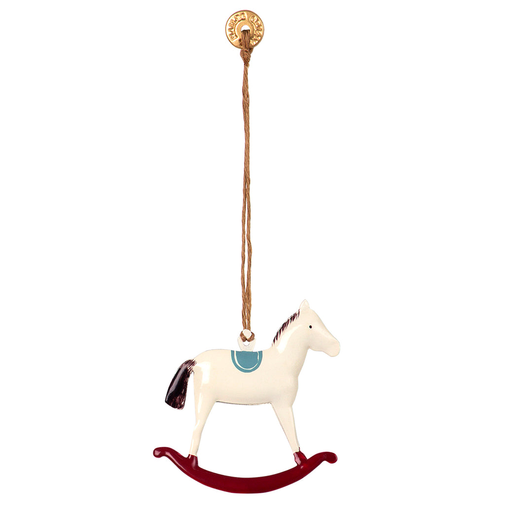 Maileg Ornament Rocking Horse Washable Mice From Maileg And Organic Cotton From Liewood