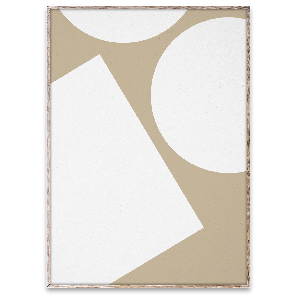 Paper Collective Wall Art Posters Simple Forms I By Nina Bruun