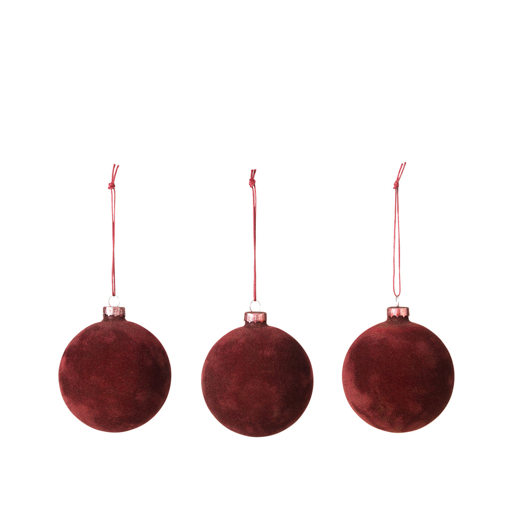 Broste Copenhagen Deco Ball Madder Brown Red