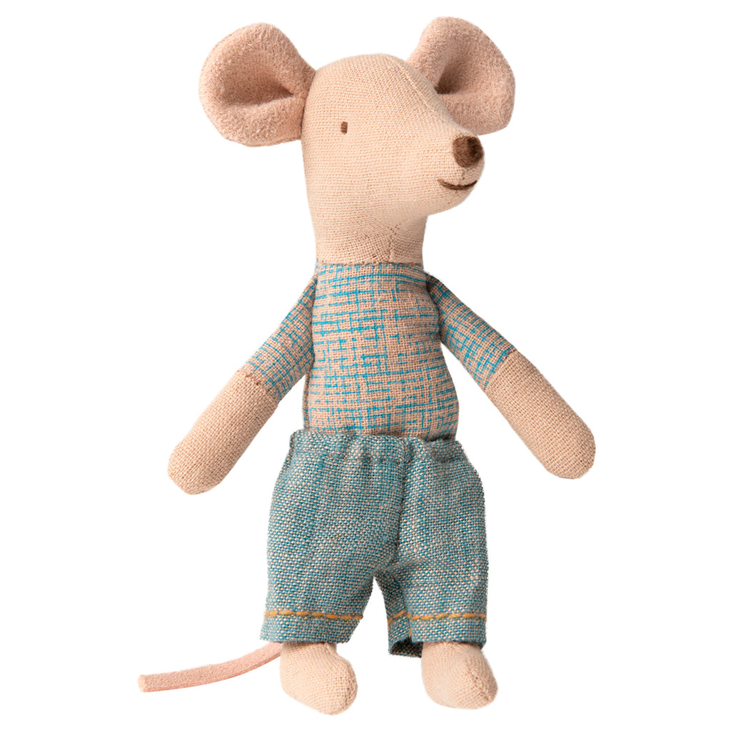 Maileg Little brother mouse in a box Scandinavian toys