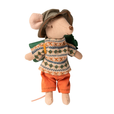 Hiker mouse Big Brother Maileg Mouse imaginative play