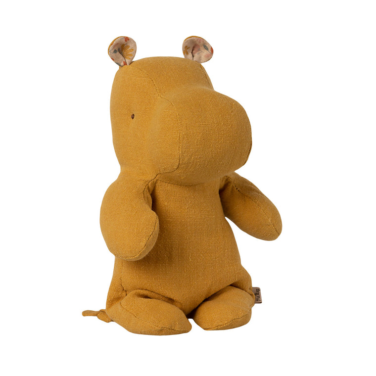 Safari Friends Small Hippo - Dusty yellow