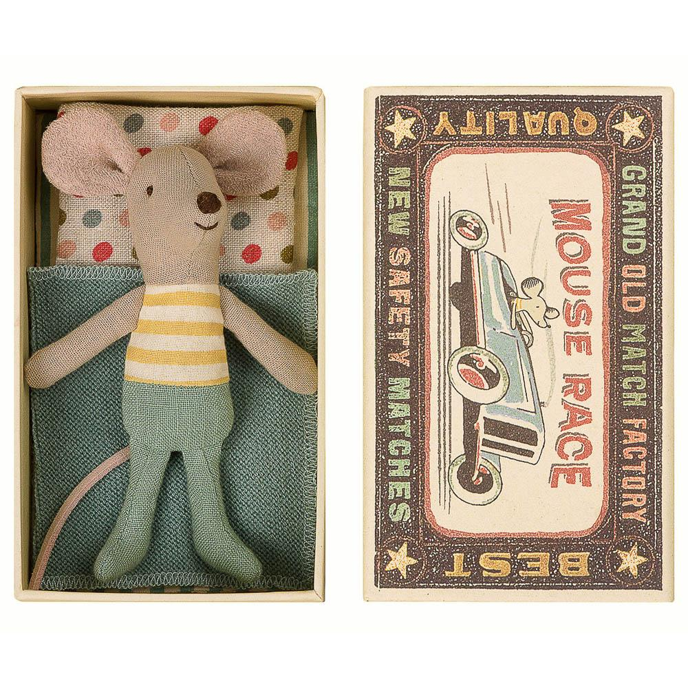 Little brother mouse maileg spring collection
