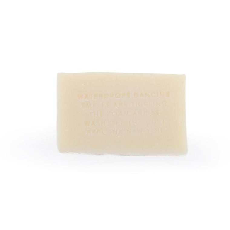 Sage & Lavender white clay soap for shaving from Monk and Anna