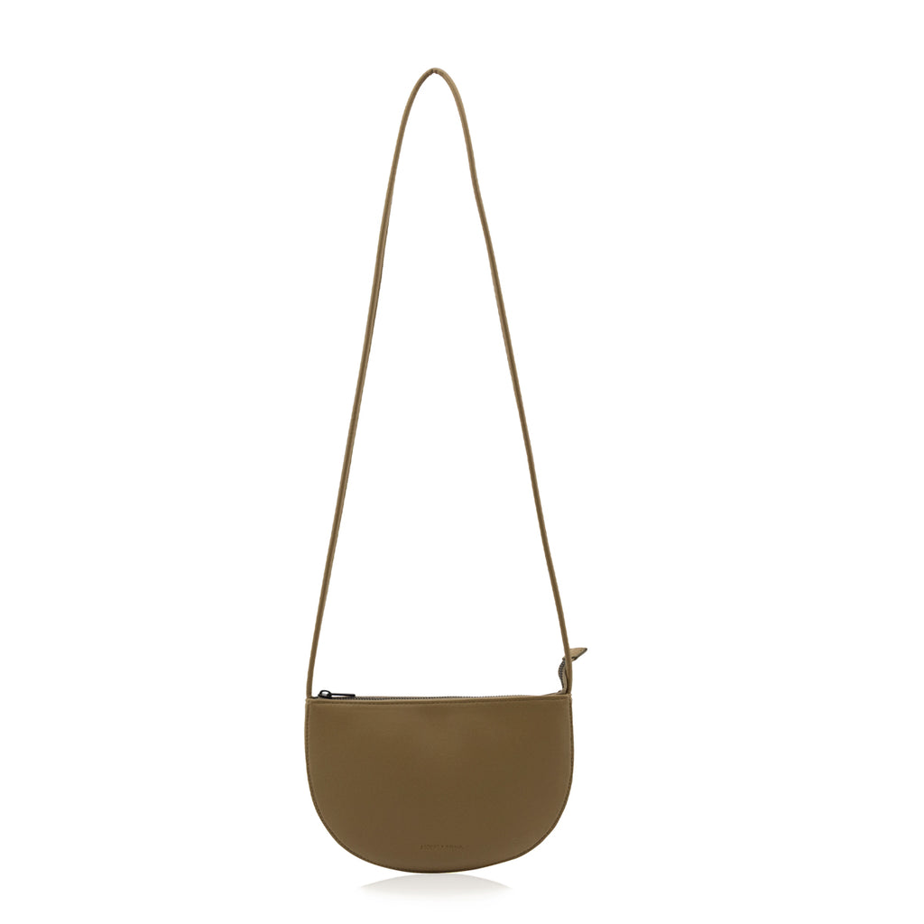 Monk and Anna Farou half moon bag - Olive