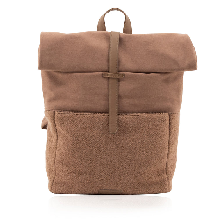Herb backpack | wool | cacao