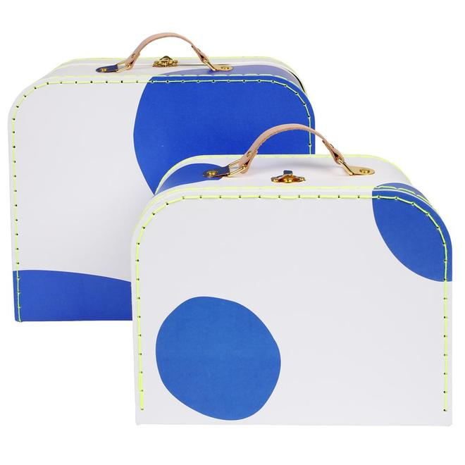 Blue Dot Suitcases