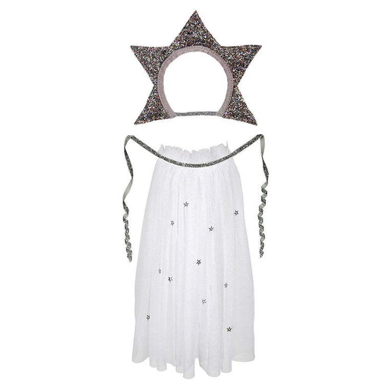 Star Headdress & Cape Doll Dress-Up Kit