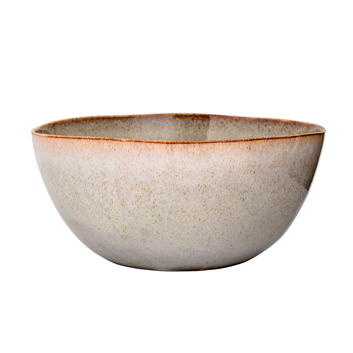 Bloomingville Sandrine Serving Bowl, Grey, Stoneware