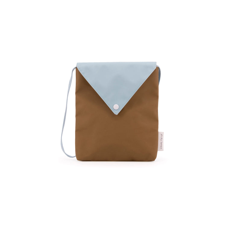 Envelope Bag Misty Green and Gold Green