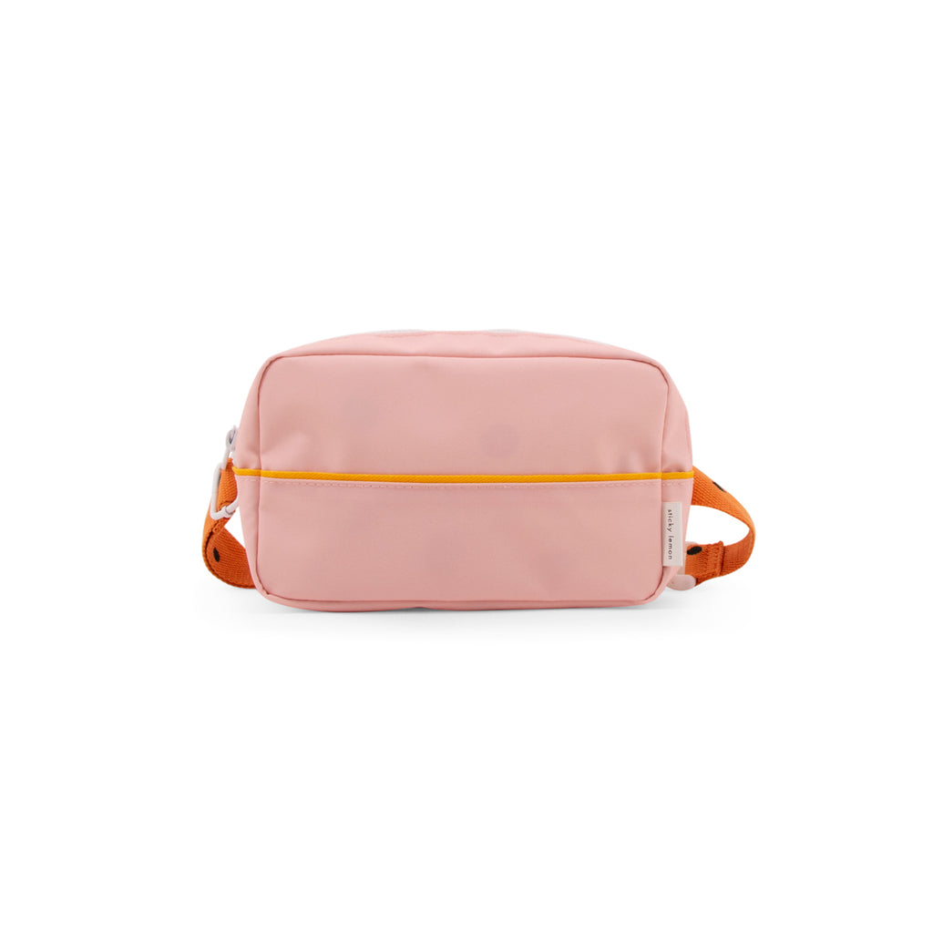 Bum Bag large freckles - candy pink + carrot orange + sunny yellow