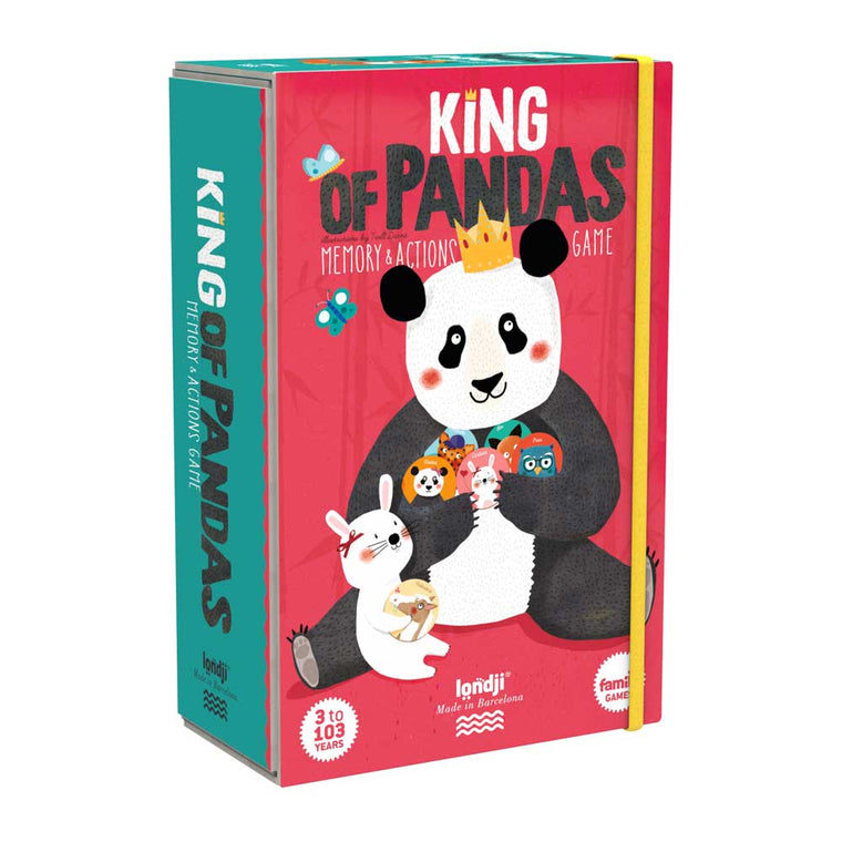 King of Pandas Memo Action game
