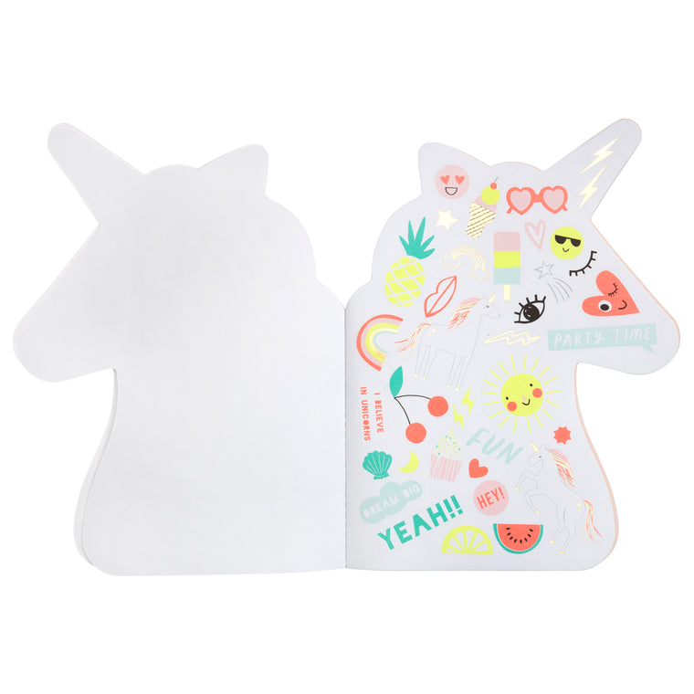 Meri Meri Unicorn Stickers & Sketch Book