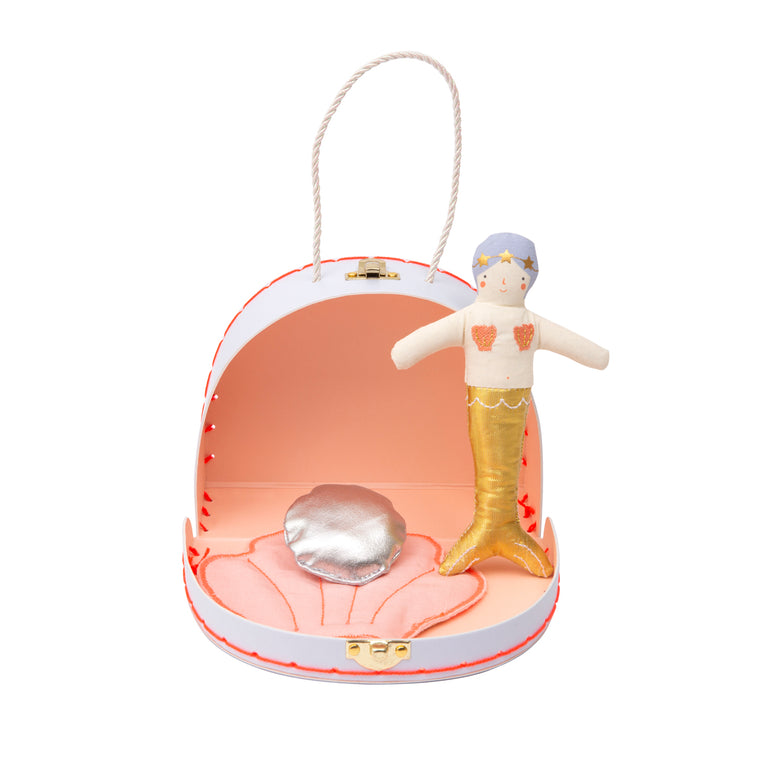 Mini Mermaid Doll Suitcase