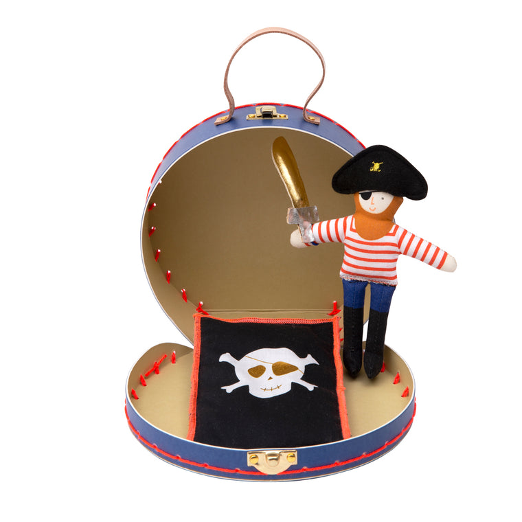 Mini Pirate Doll Suitcase