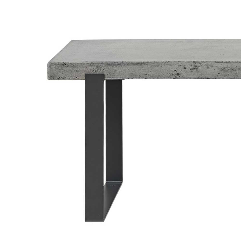 Concrete dining table from Cozy living copenhagen suitable for indoor and outdoor use