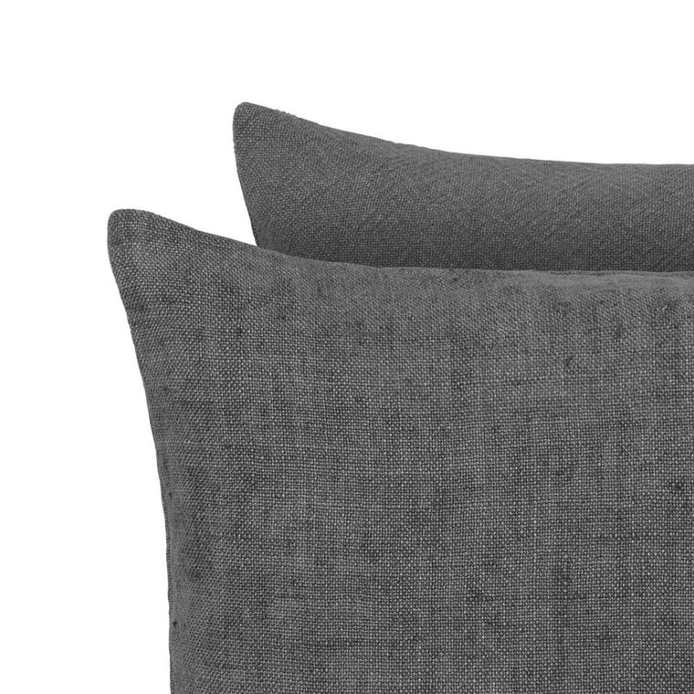 Charcoal Luxury Heavy Linen
