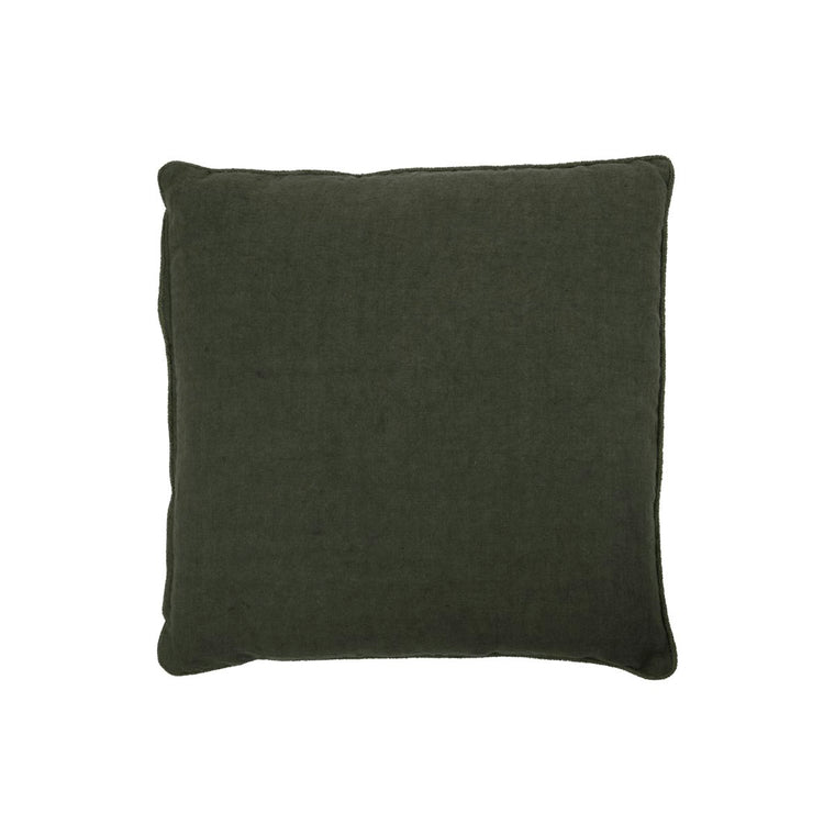 Cushion cover, Sai, Dark dark green
