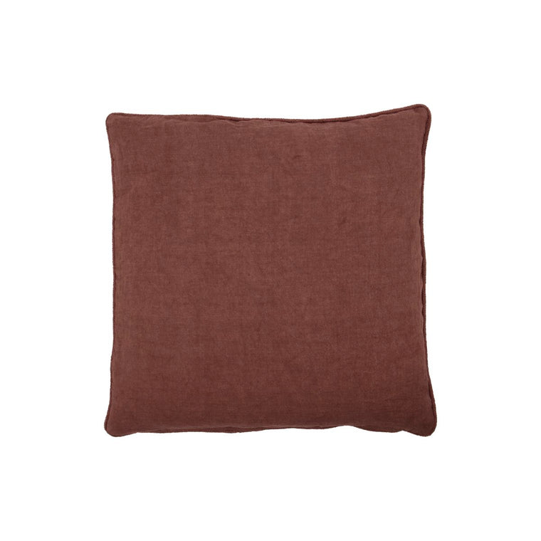 Cushion cover, Sai, Dark red/brown