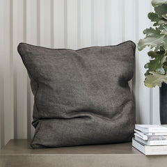 House Doctor Cushion cover, Sai, Dark grey