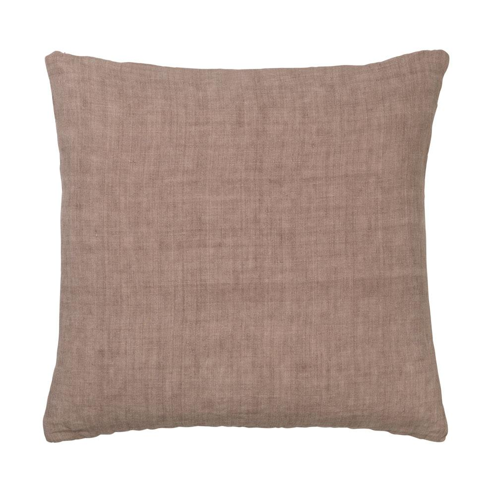 Light Linen Rouge pink blush cozy living cushion