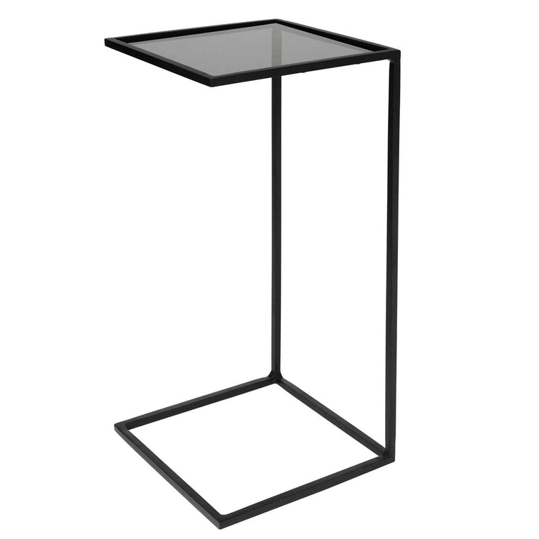 Table 'Tania' Glass Steel 2 sizes