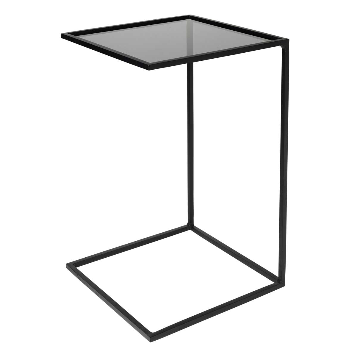 Broste Copenhagen Side Table 'Tania' Glass Steel 2 sizes