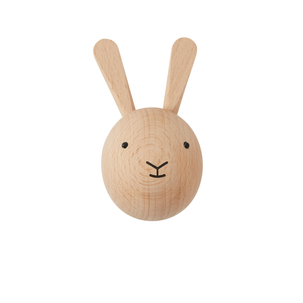 wooden rabbit hook from oyoy living design