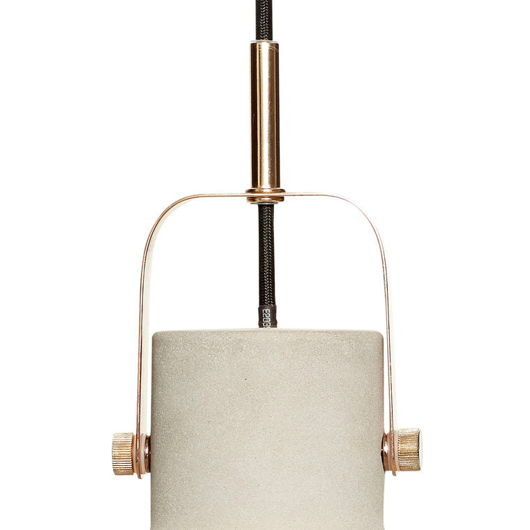 Lamp concrete pendants ceiling lighting from Hübsch