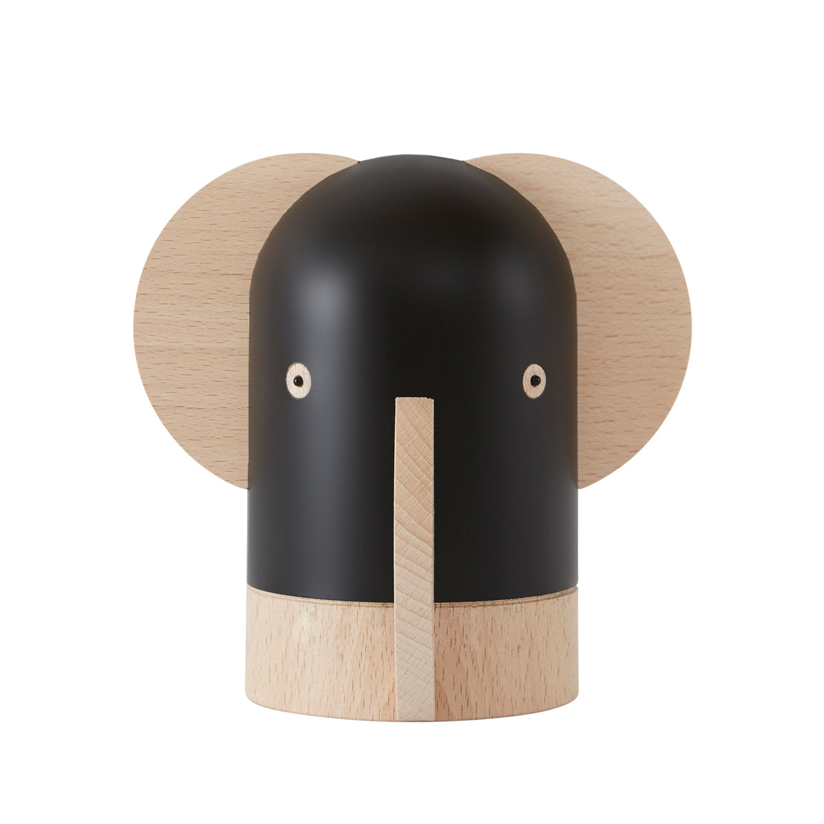 elephant baba money bbox from Oyoy living design in wood and black